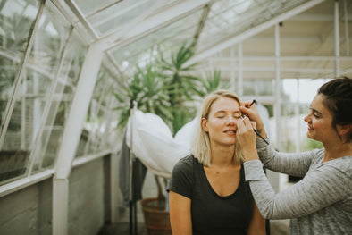 """No make-up"" make-up workshop • von Winckelmann • 07/04/2019"