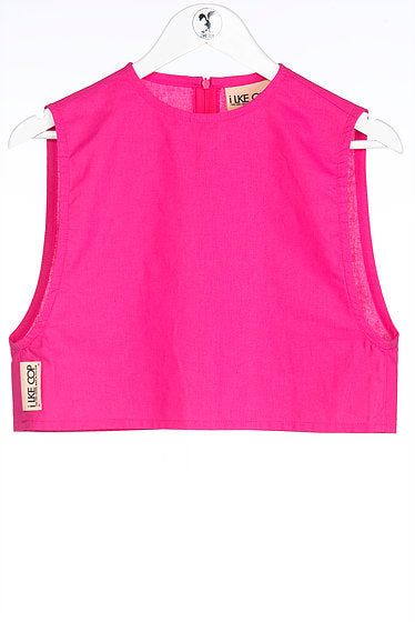Ilke Cop Tentacolina Top - Hot Pink