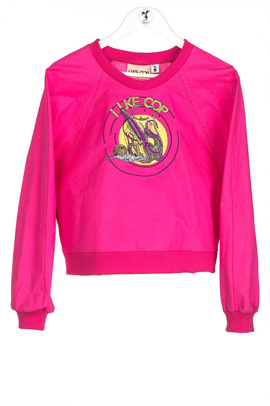 Ilke Cop Tentacolina Sweater • Hot Pink