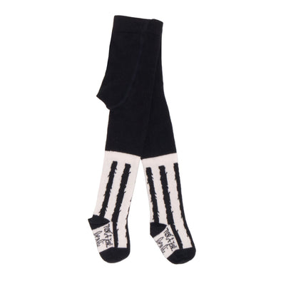 NOE & ZOE Tights • Black Stripes