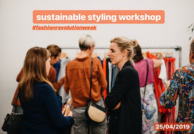 Sustainable styling workshop • by Lilirooz • 25/04/2019