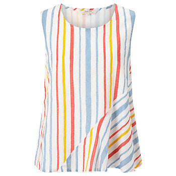 People Tree Avalon Stripe Top • Multicolored