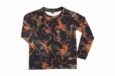 Harvestclub-Harvest-Club-Leuven-no-sugar-longsleeve-deer-black