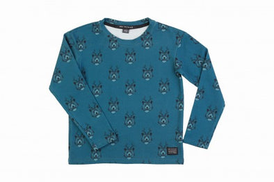 Harvestclub-Harvest-Club-Leuven-no-sugar-longsleeve-shirt-bears-blue