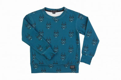 Harvestclub-Harvest-Club-Leuven-no-sugar-sweatshirt-bears-blue
