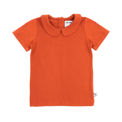 CARLIJNQ Basic T-shirt Collar • Cinnamon