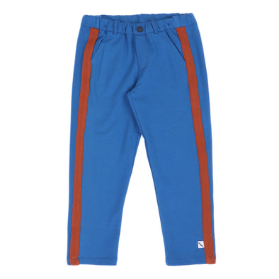CARLIJNQ Basic Chino Striped • Blue/Rust
