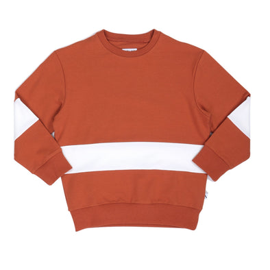 harvestclub-harvest-club-leuven-carlijnq-basic-sweater-stripes-rust-coconut