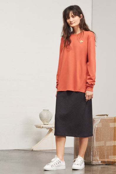 KOWTOW Building Block Boyfriend Top • Peach