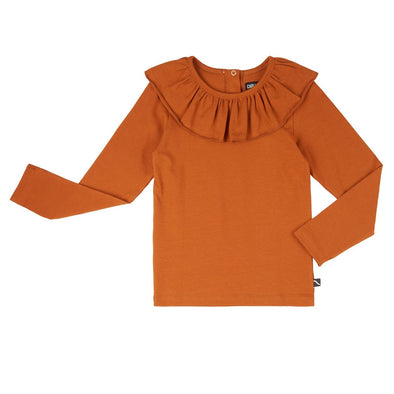 Harvelub-Harvest-Club-Leuven-carlijnq-basics-longsleeve-with-big-collar-orange