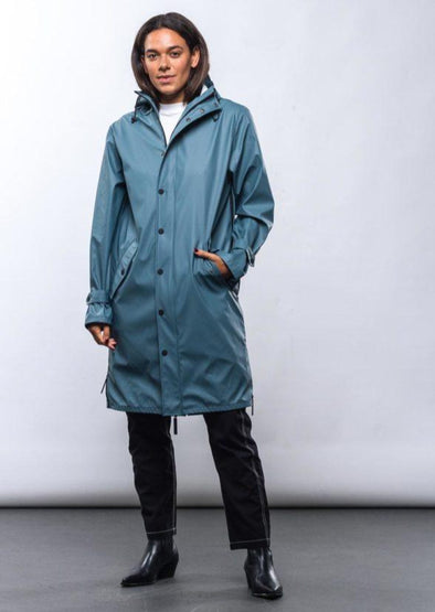 MAIUM Raincoat • Original Blue Grey