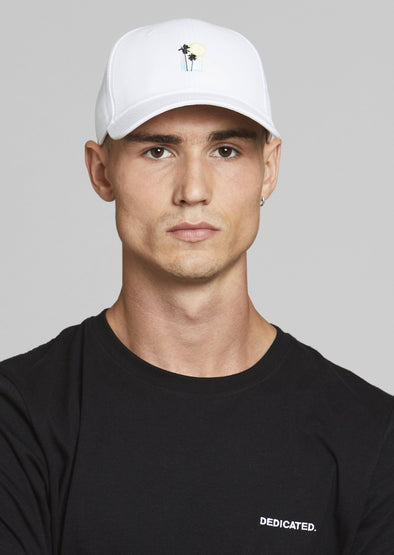 DEDICATED Sport Cap • Sunset Palm White