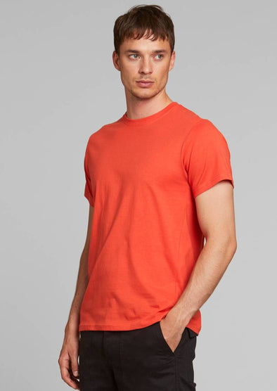DEDICATED Stockholm T-Shirt • Base Pale Red