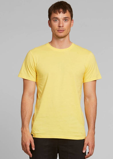 DEDICATED Stockholm T-Shirt • Base Yellow