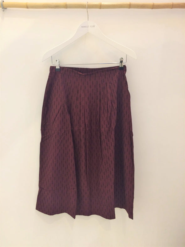 NOUS Kathy Skirt • Burgundy