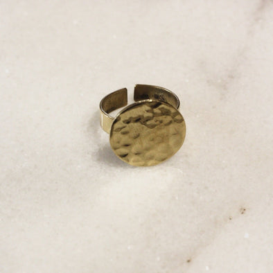 Mumkin Circular Ring Brass • Small