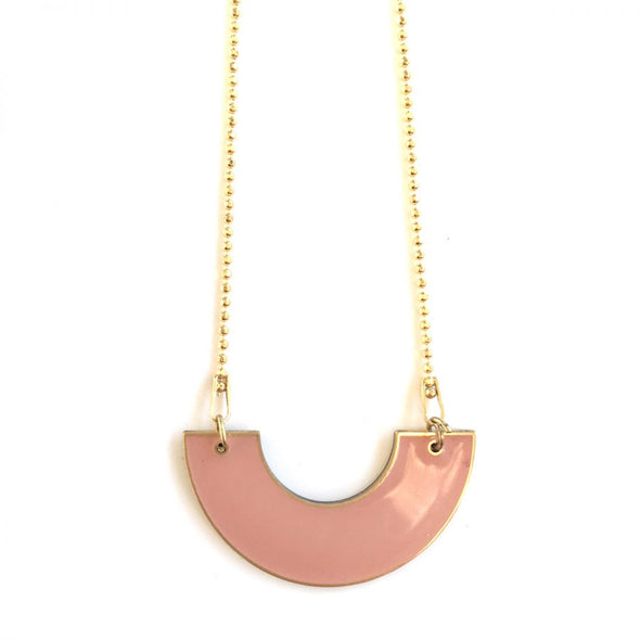 ALL THINGS WE LIKE Necklace • Enamel Pink