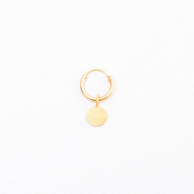INDI&ME Earring Levy coin • gold