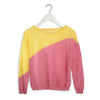 TRICOT POP Jade • Yellow/ Pop