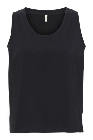 POP UP SHOP Jersey Top • Black