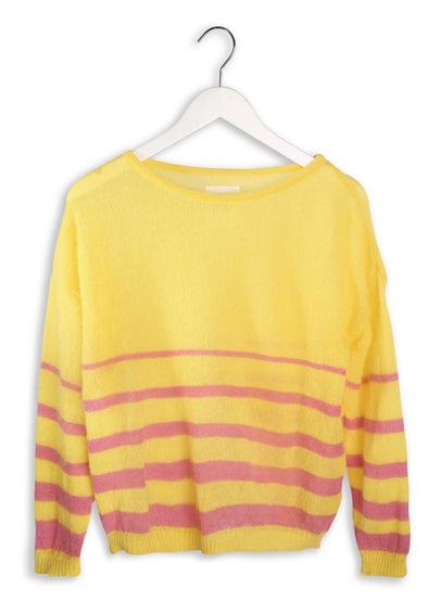 TRICOT POP Julia • Yellow