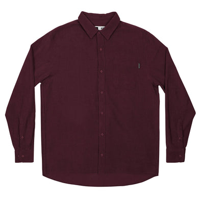 harvestclub-harvest-club-leuven-dedicated-shirt-varberg-corduroy-burgundy