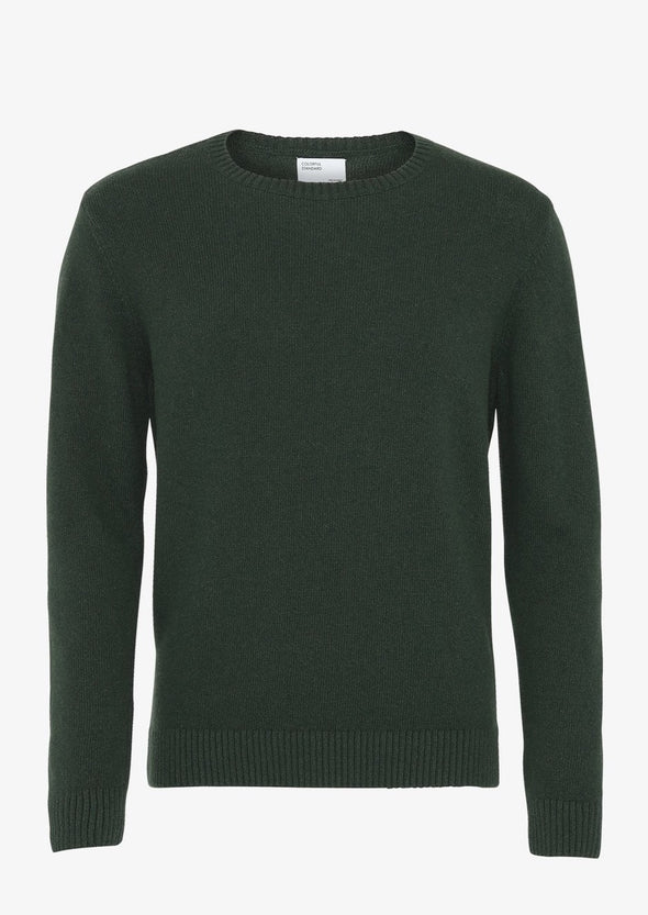 harvestclub-harvest-club-leuven-colorful-standard-merino-wool-crew-hunter-green
