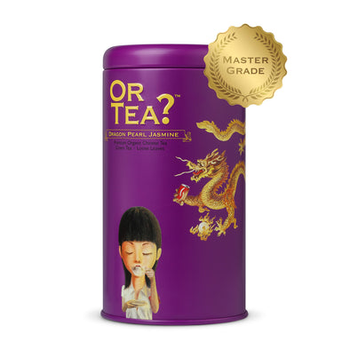 OR TEA  Dragon Pearl Jasmine • Tin Canister