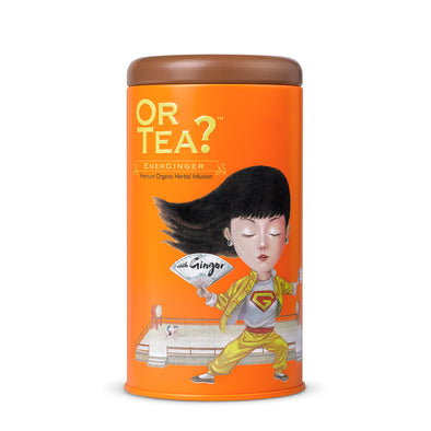 OR TEA Energinger • Tin Canister