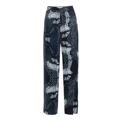 RHUMAA Reflection Printed Trousers • Printed Evening Blue