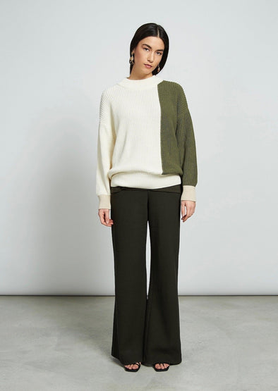Harvestclub-Harvest-Club-Leuven-jan-n-june-thick-jumper-soho-tricolour-sand-olive