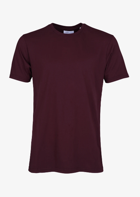 COLORFUL STANDARD Classic Organic Tee • Oxblood Red