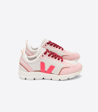 harvestclub-harvest-club-leuven-veja-junior-canary-small-alveomesh-natural-rose-fluo-dried-petal