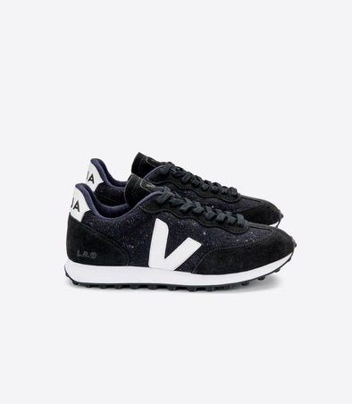 VEJA Riobranco • Flannel Dark White Black