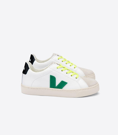 harvestclub-harvest-club-leuven-veja-junior-esplar-small-lace-leather-extra-white-emeraude-jaune-fluo