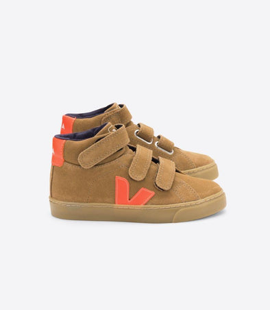 harvestclub-harvest-club-leuven-veja-junior-esplar-mid-small-velcro-suede-tent-orange-fluo-natural-sole