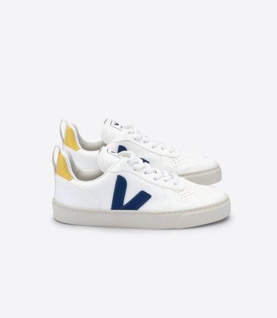 harvestclub-harvest-club-leuven-veja-junior-v-10-lace-cwl-white-cobalt-gold-yellow