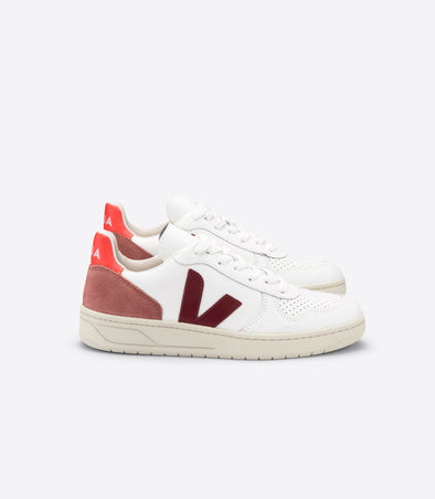 harvestclub-harvest-club-leuven-veja-v-10-leather-extra-white-marsala-dried-petal-orange-fluo