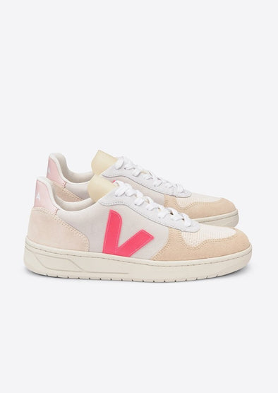 harvestclub-harvest-club-leuven-veja-v-10-leather-suede-multico-natural-rose-fluo