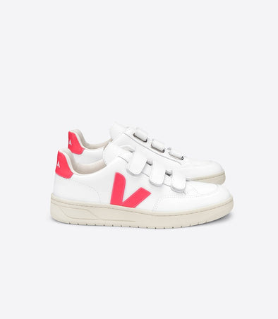 harvestclub-harvest-club-leuven-veja-v-lock-leather-extra-white-rose-fluo