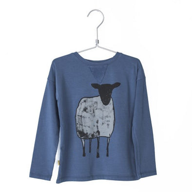 harvestclub-harvest-club-lötiekids-fitted-t-shirt-sheep-stone-blue