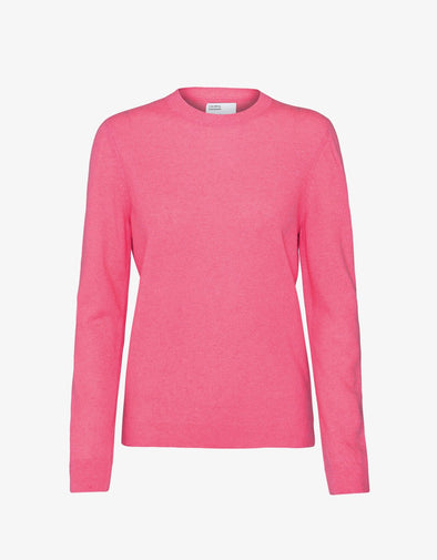 harvestclub-harvest-club-leuven-colorful-standard-women-merino-wool-crew-bubblegum-pink