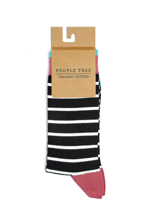 harvestclub-harvest-club-leuven-people-tree-striped-socks-black-multi