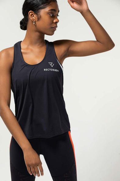 RECTO VERSO Sport • Linea Blue Tank Top AIR COLLECTION