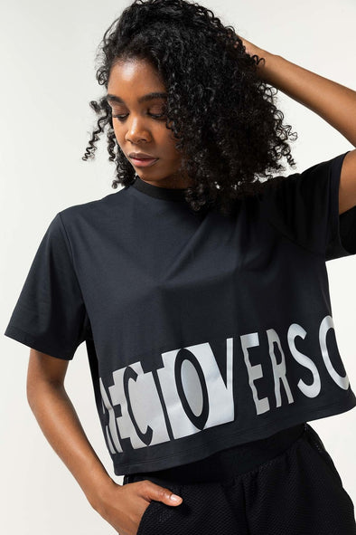 RECTO VERSO Sport • Undercover cropped t-shirt AIR COLLECTION