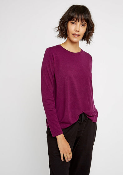 PEOPLE TREE  Amara Top • Purple