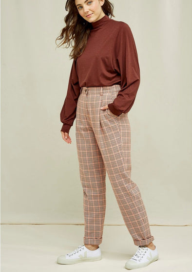 harvestclub-harvest-club-leuven-people-tree-annis-houndstooth-trousers-brown-multi