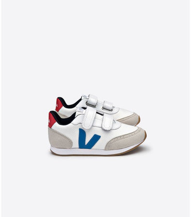 VEJA Junior Arcade • White Swedish Blue Pekin