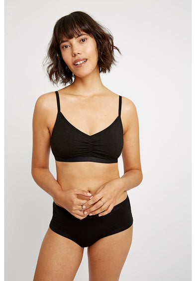 PEOPLE TREE Soft bra top • Black