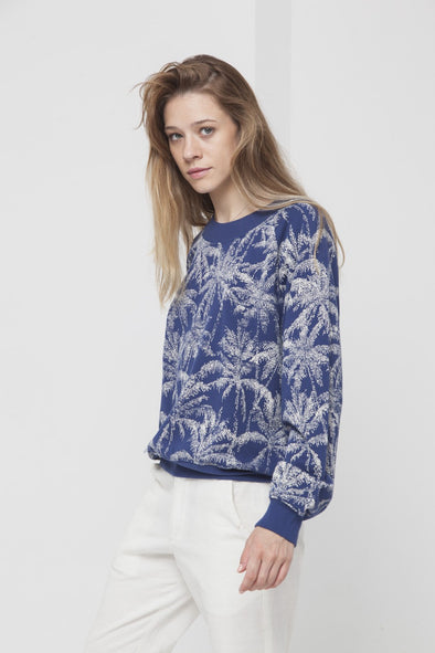 harvestclub-harvest-club-leuven-palmeras-sweater-women-blue-marino